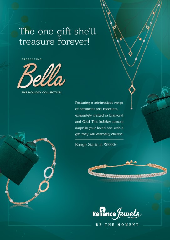 Reliance Jewels adds to New Year festivities with Bella collection and Special Offers
