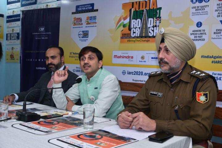 NGO launches India Against Road Crash 2020 Campaign