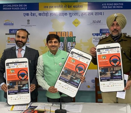 NGO launches India Against Road Crash 2020 Campaign