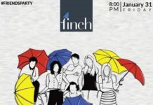 The Finch has come up with an exciting event to set the last weekend
