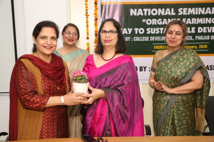 "National Seminar on ""Organic Farming: A Way to Sustainable Development"" held"