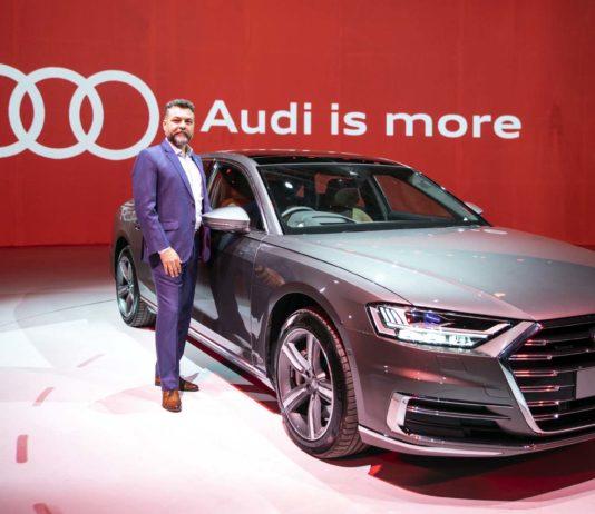 Audi launched flagship Sedan A8 L