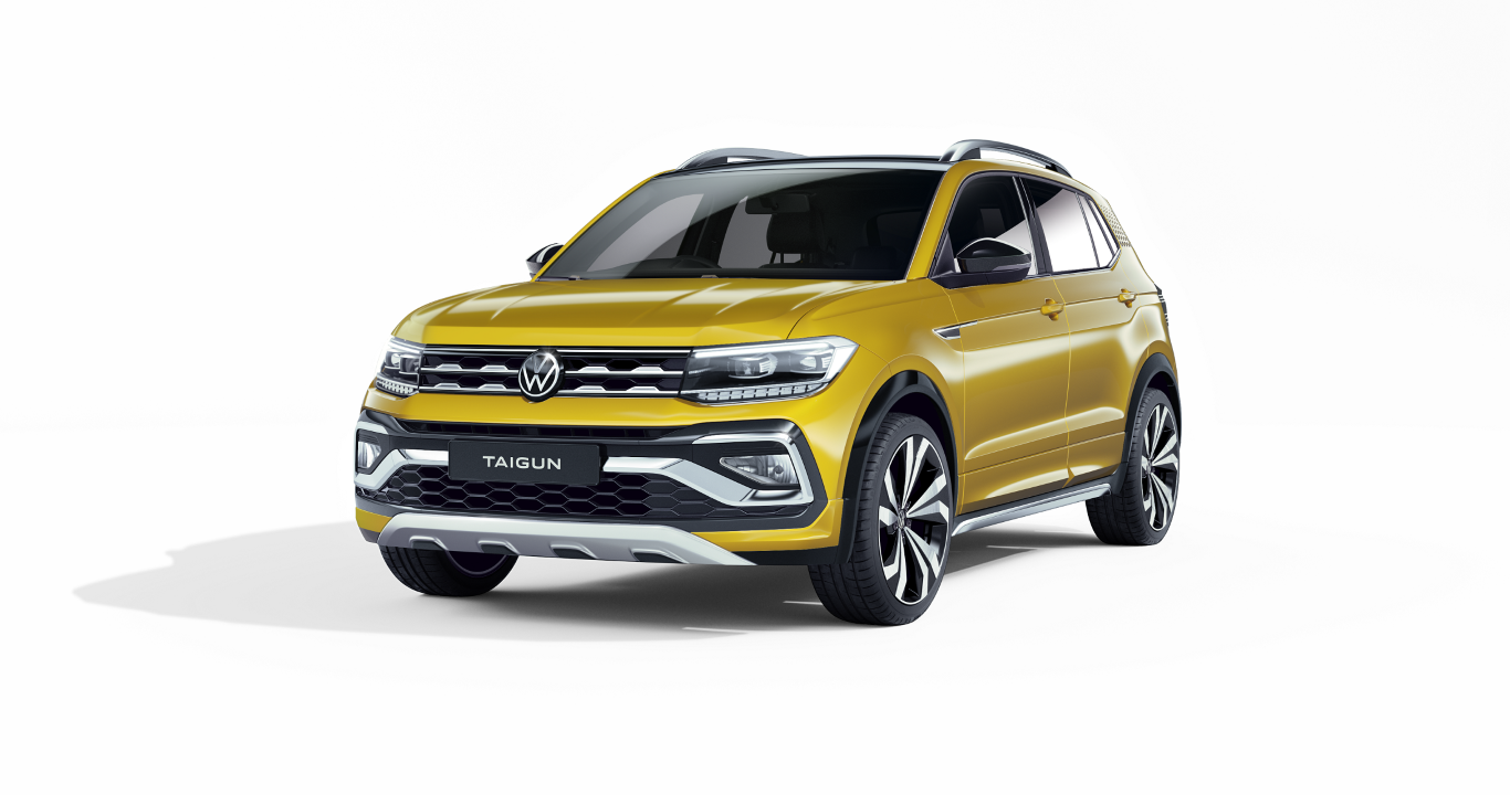 Volkswagen showcases its compact SUV