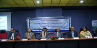 """National Seminar on """"Recent Advances in Material Science"""" held at SD College"""
