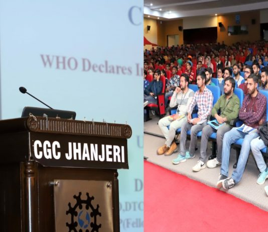 CGC Jhanjeri Organizes Health Talk on Corona Virus in Collaboration with Fortis Hospital