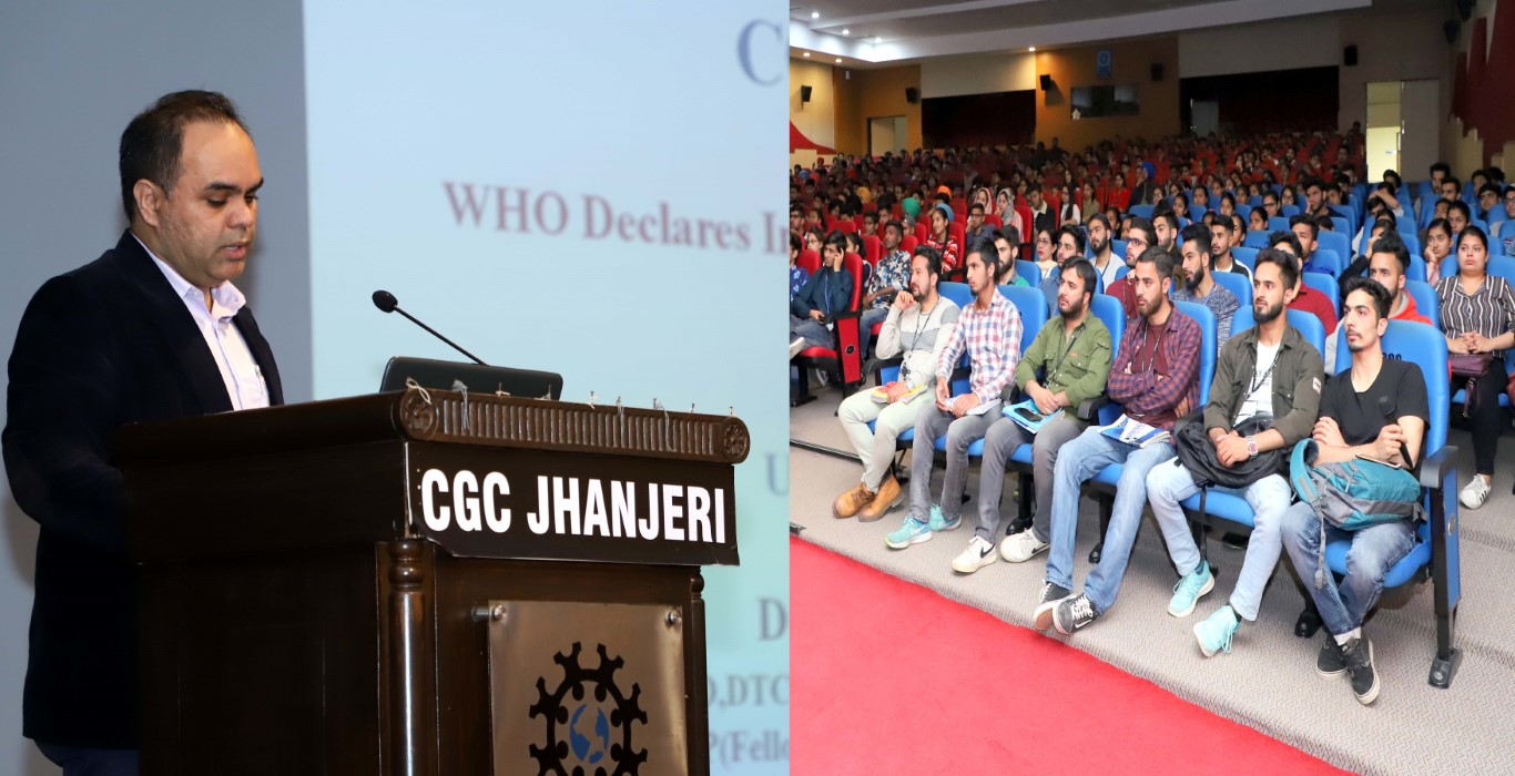CGC Jhanjeri Organizes Health Talk on Corona Virus in Collaboration with Fortis Hospital