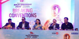 13th Edition of Mahindra BAJA SAEINDIA 2020, Leg 2 kicks off at Chitkara University