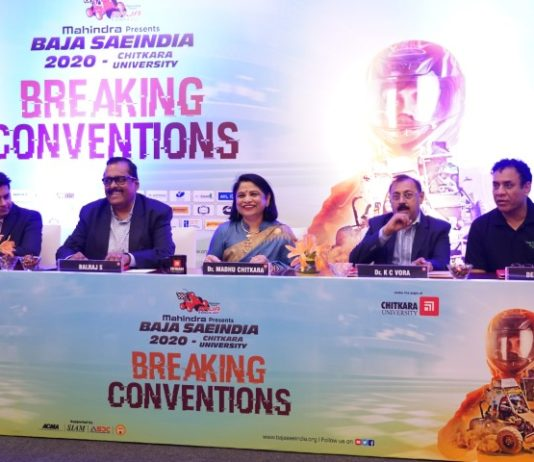 13th Edition of Mahindra BAJA SAEINDIA 2020, Leg 2 kicks off at Chitkara University