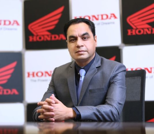 Honda exports 2,630 two-wheelers in April'20