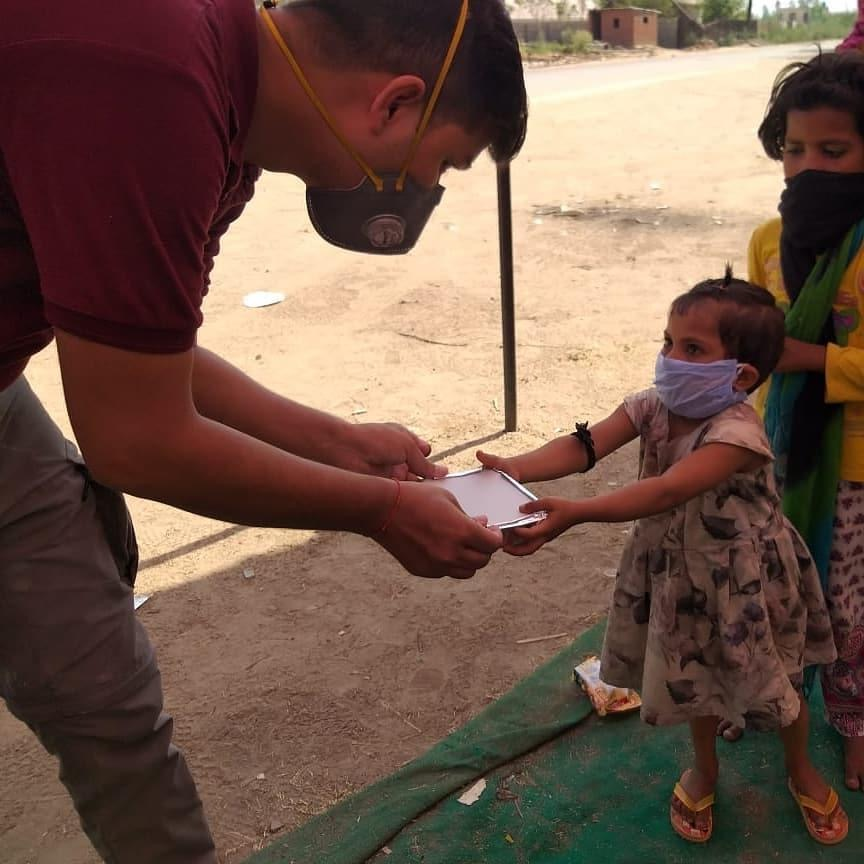 How EduVelocity students raised funds to help the needy in times of Corona