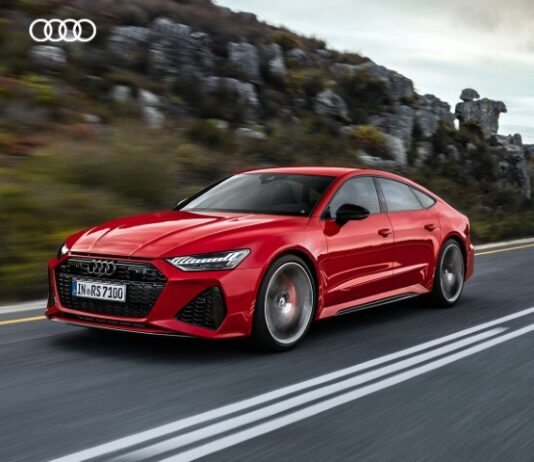 All new Audi RS 7 Sportback