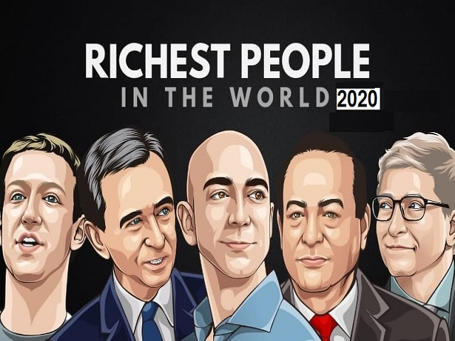 20 Richest person in the world 2020