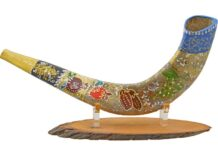 Buy Beautiful Shofar And Menorah Online