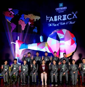 Chitkara International School brims with pride as it announces 100% result of 12th class