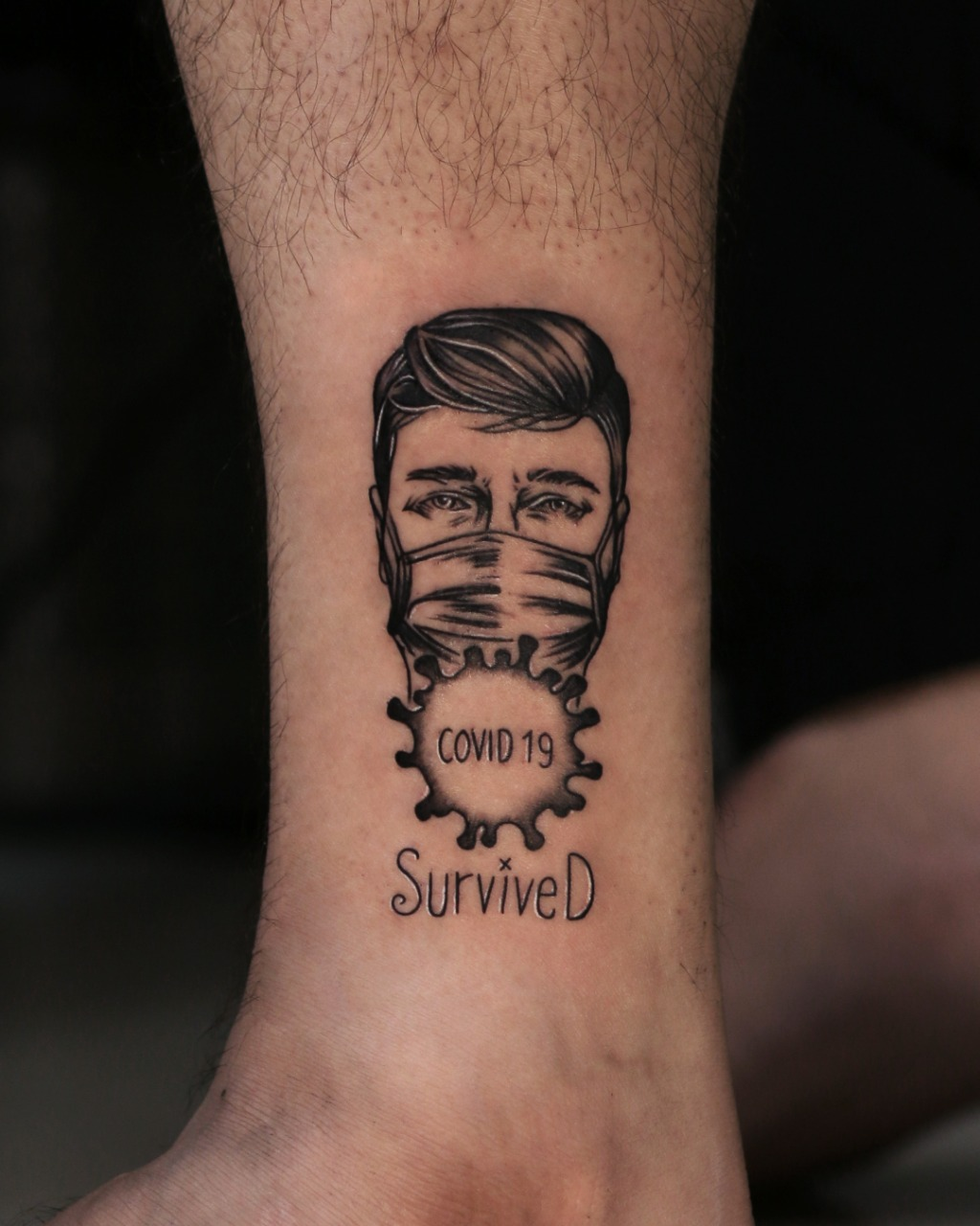 Danish Tattoo Studio offers COVID-19 tattoos to clients reminiscent of survival
