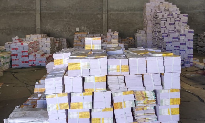 1.5 lakh illegally printed NCERT school books seized