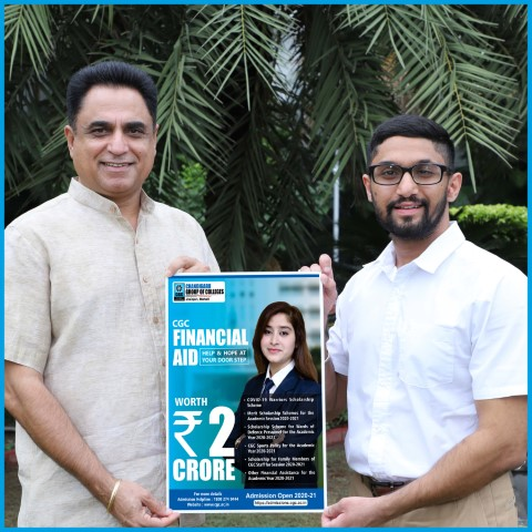 CGC Jhanjeri Launches Financial Aid Programme Scholarships worth Rs. 2 Crore to Support Needy Students