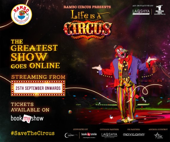 Rambo Circus goes online