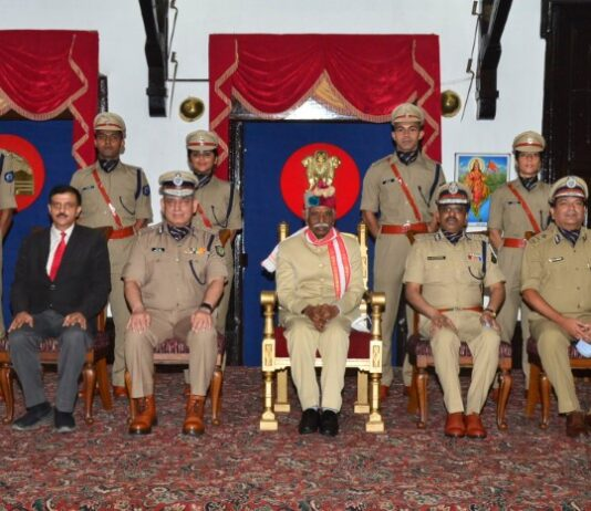 New appointed trainee IPS Officers call on Governo