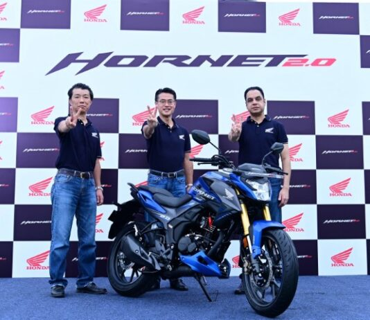 Honda launched muscular sporty & advanced Hornet 2.0