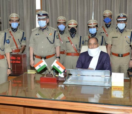 New appointed trainee IPS Officers call on Chief Minister