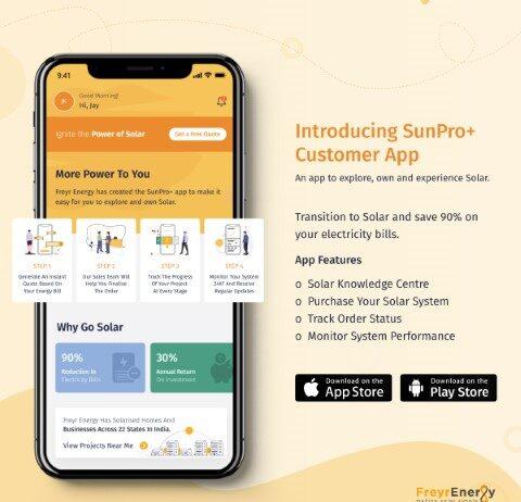 Freyr Energy Launches SunPro+, A Revolutionary App