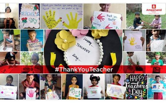 Ampersand launches #ThankYouTeacher campaign across Hubble Adarsh Schools in Punjab