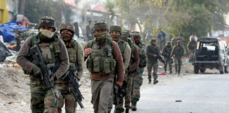 Attack of Pakistani Forces on Indian Positions