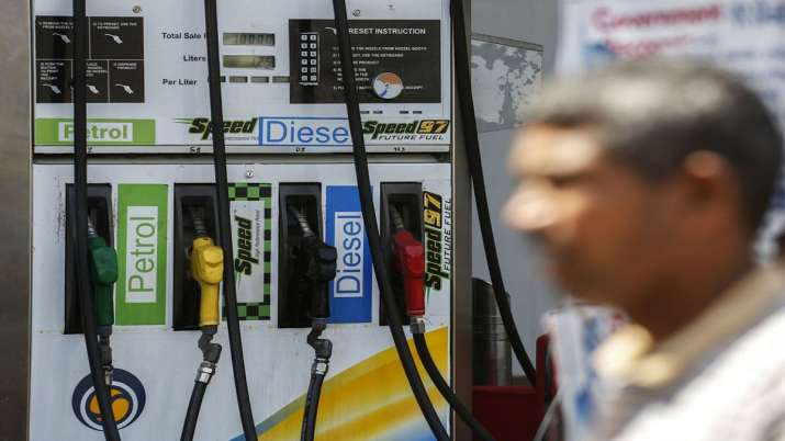 Diesel prices fall again petrol unchanged