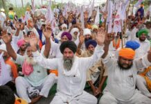 Farmers stage protests in Punjab, Haryana