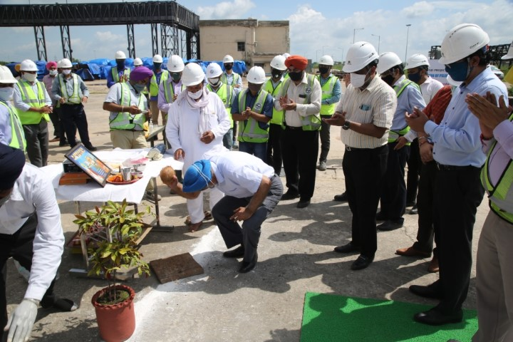 lue Gas Desulphurisation Work Starts in Full Swing at Nabha Power's Rajpura TPP