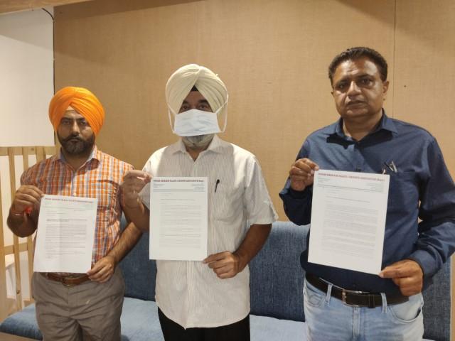 Punjab Marriage Palace & Resort Association Submits Memorandum to CM