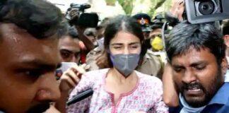 Rhea Chakraborty appears before NCB again
