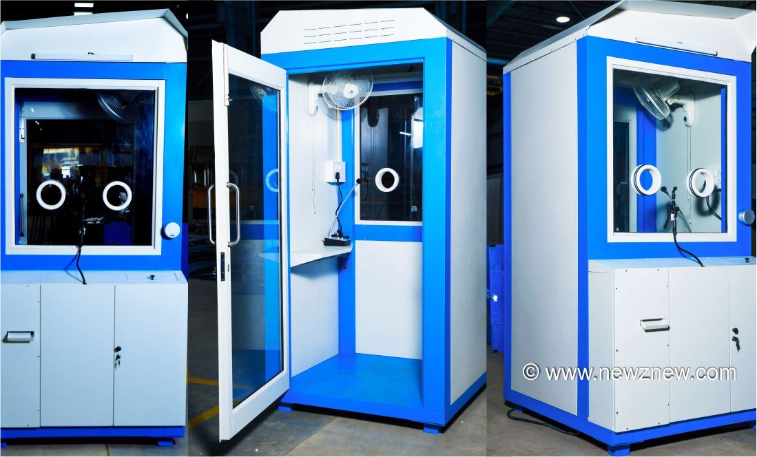 Tata Steel's Nest-In develops Covid-19 Swab Collection Unit