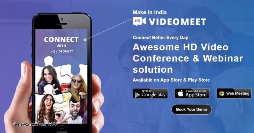 Made in India VideoMeet App announces new features