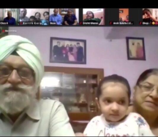 Virtual Grandparents Day Celebrated at Banyan Tree School