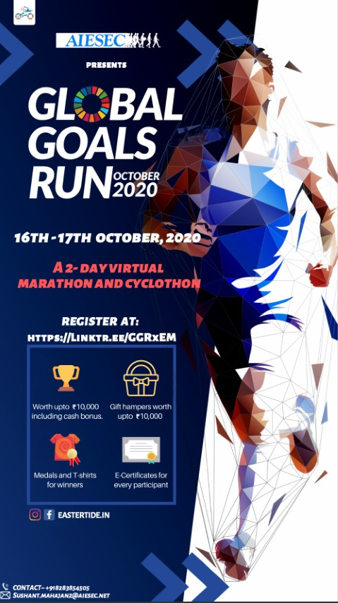 AIESEC to host virtual marathon and cyclothon