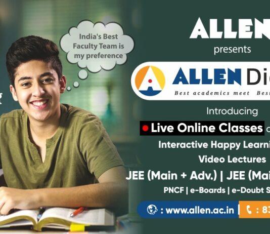 ALLEN Digital LIVE Classes Courses from October 1