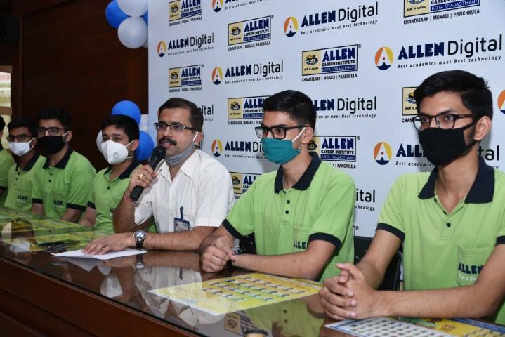 Parshant Arora of Allen Chandigarh Bags AIR-54