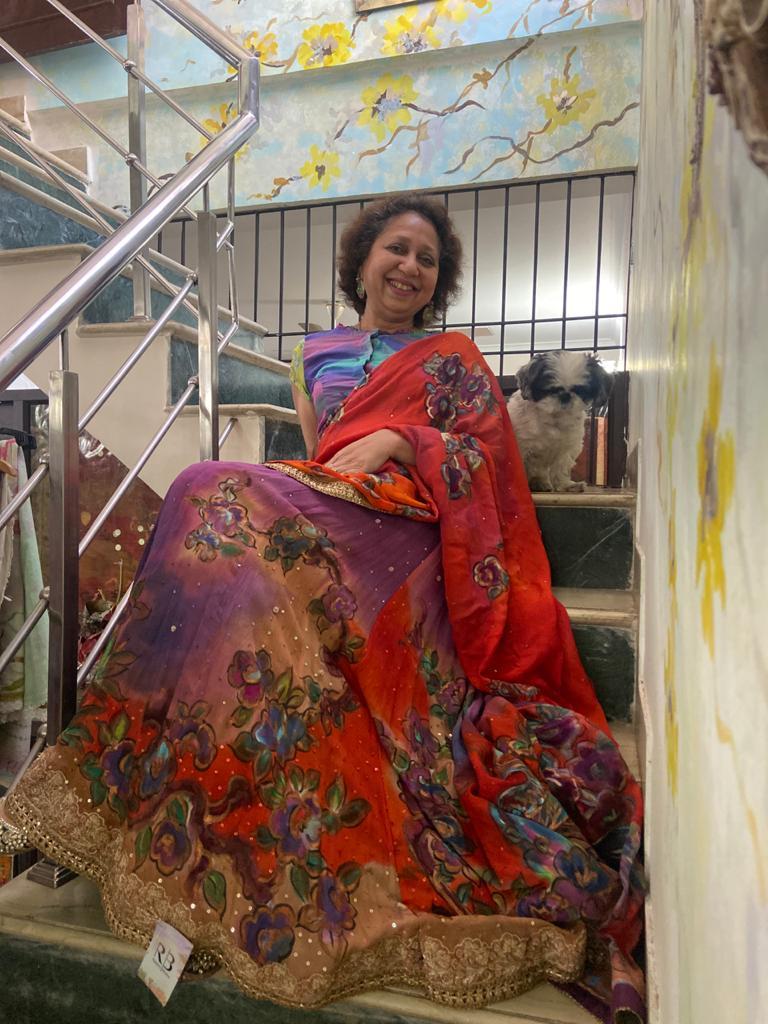 ancer survivor creates fashion collection using unique techniques