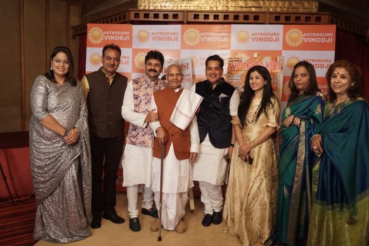 Astrologer Dr. Acharya Vinod Kumar Ojha Celebrates the Festive Fervour as he Launch his Office