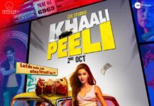 Khaali Peeli Movie Releases on Zee Plex on 2nd October