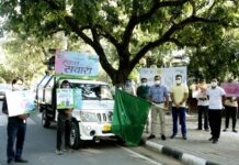 "MCC launches Swachh Ward contest ""Commissioner flagged off Swachh Sawari"""