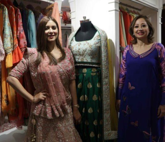 Designer Rupam Grewal showcases Jaamawar Minx's 'Festive Collections'