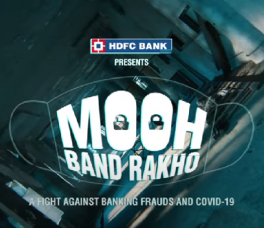 """HDFC Bank launches """"MoohBandRakho"""" campaign to create awarenesson cyber frauds"""