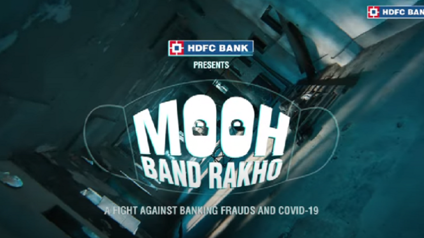 "HDFC Bank launches ""MoohBandRakho"" campaign to create awarenesson cyber frauds"