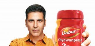 Akshay Kumar the new face of Dabur Chyawanprash