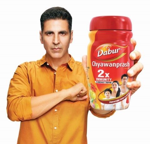 Akshay Kumar the new face of Dabur Chyawanprash