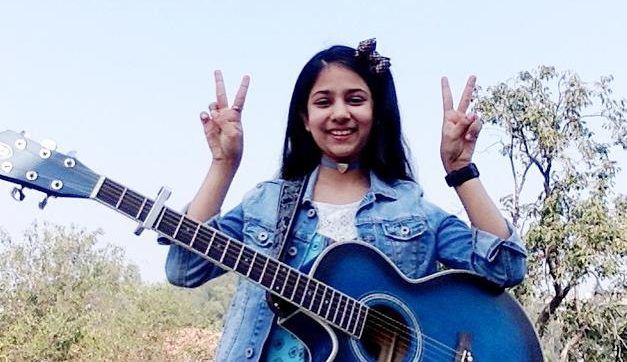 Class V student Ayanna Jain pays tribute to COVID warriors through her songs on YouTube