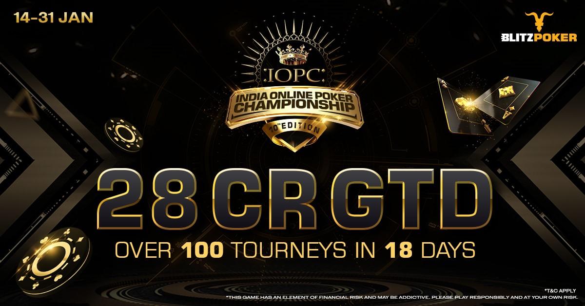 BLITZPOKER Presents India's Biggest Online Poker Event